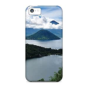 Forever Collectibles Lake On A Pacific Isl Hard Snap-on Iphone 5c Case