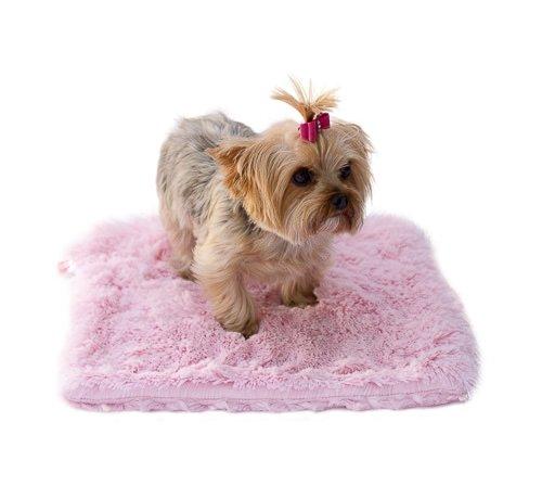 Minkie Binkie Blanket,Pale Pink Powder Puff, s 20x30