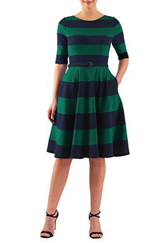 Buy belted knit dress - 6