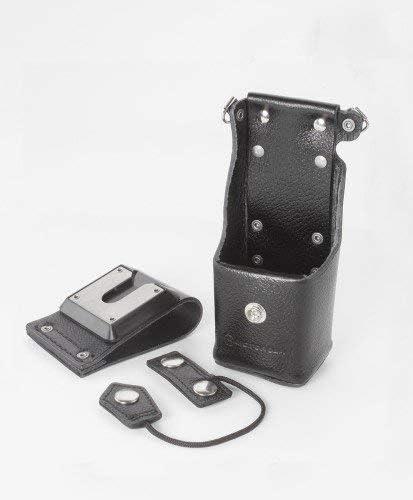 Motorola OEM Leather Holster NTN8381C Swivel Carrying Case