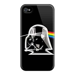 Top Quality Protection Star Wars Dark Side Case Cover For Iphone 4/4s