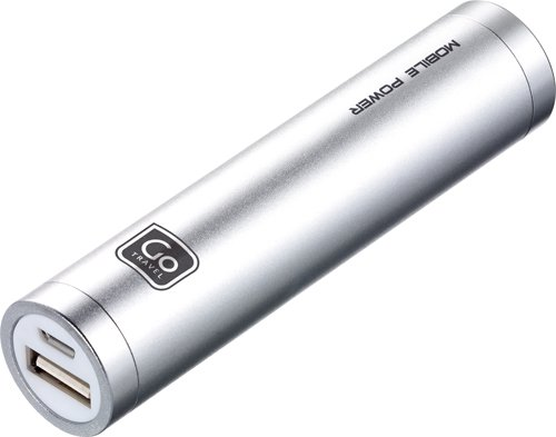 Price comparison product image Design Go Single Power Bank, Silver, One Size