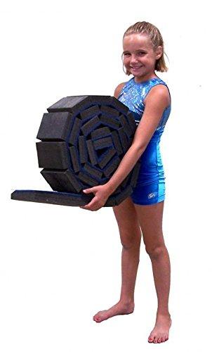 Team Sports Gymnastics Flexible Rollable Foam Training Beam!