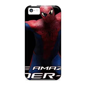 Mialisabblake Case Cover For Iphone 5c - Retailer Packaging The Amazing Spider Man Movie 2012 Protective Case