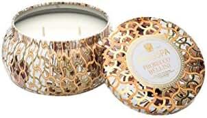 Voluspa Prosecco Bellini 2 Wick Maison Metallo Candle 11 oz