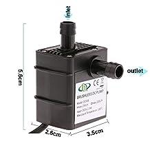 Submersible Water Pump for Fountain Aquarium,Water Pump Aquarium