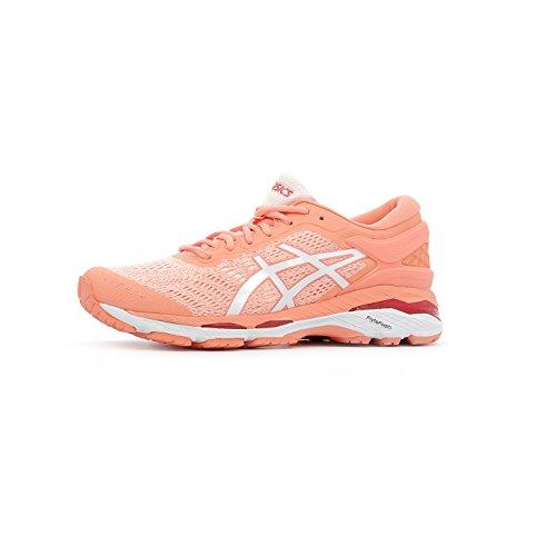 Zapatillas Gel kayano Running De Mujer Para 24 Blanco Asics Rosa ptvq7w