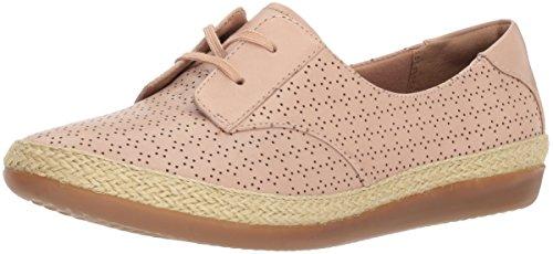 Clarks Dames Danelly Millie Sneaker Blozen Roze Leer