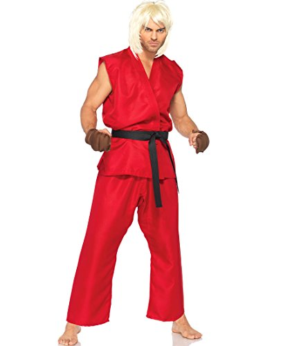 Leg Avenue SF85082 Street Fighter Ken Adult Costume