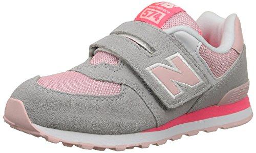 New Balance KV574 - Zapatillas de Deporte niñas gris - Gris (Scy Silver Mink)