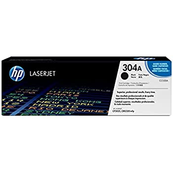 HP 304A (CC530A) Black Original Toner Cartridge