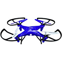 SkyRider DRC377PR Falcon 2 Pro Quadcopter Drone with Video Camera (Purple)