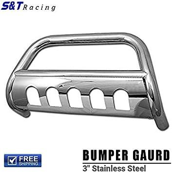 S/&T Racing Matte Black Bull Bar Push Bumper Grill Grille Guard 05-10 Grand Cherokee//Commander