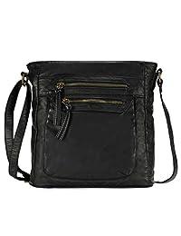 Scarleton Fashion Denim Crossbody Bag H1740