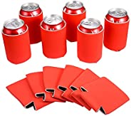 Sublimation Blanks Can Cooler - 12 pcs Neoprene Beer Coolers Great for DIY Projects for Wedding, Bachelorette