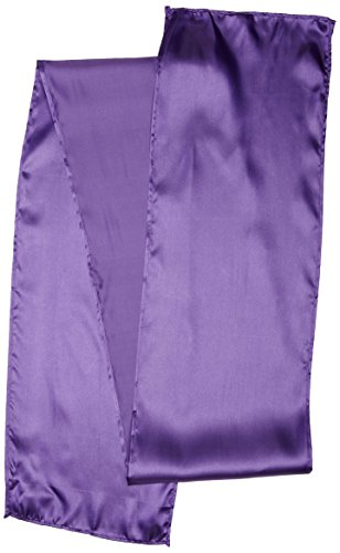 LinenTablecloth 108 Inch Satin Runner Purple product image