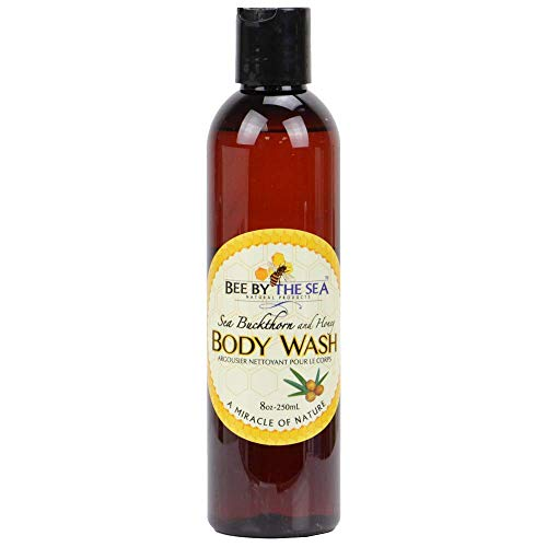 Sea Buckthorn and Honey Body Wash - A Miracle of Nature Sulfate-Free Cleanser, 8oz