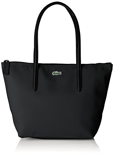 5x24 Noir Cm Cabas L 14 Femme Cuir w black 5x23 Sac Lacoste H 5 X Bandouliere Ya6gaw