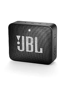 JBL GO 2 - Altavoz inalámbrico portátil con Bluetooth, parlante resistente al agua (IPX7), JBL Connect+, hasta 5 h de reproducción con sonido de alta fidelidad