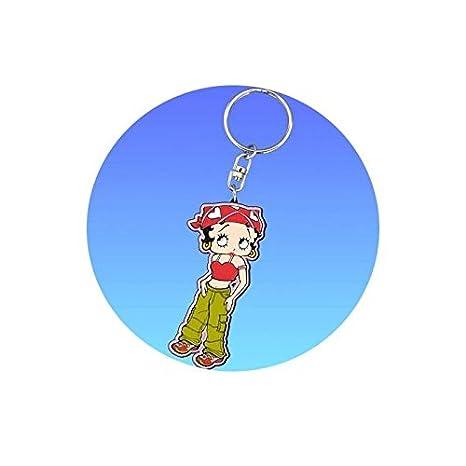 Betty Boop-Llavero de Betty Boop, diseño de estrellas ...