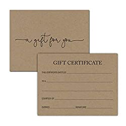 Image of the product 24 Gift Certificate that is listed on the catalogue brand of InvitationHouse.