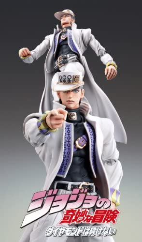 New Jojo/'s Bizarre Adventure Jotaro Kujo Figure Medicos Super PVC Action Statue