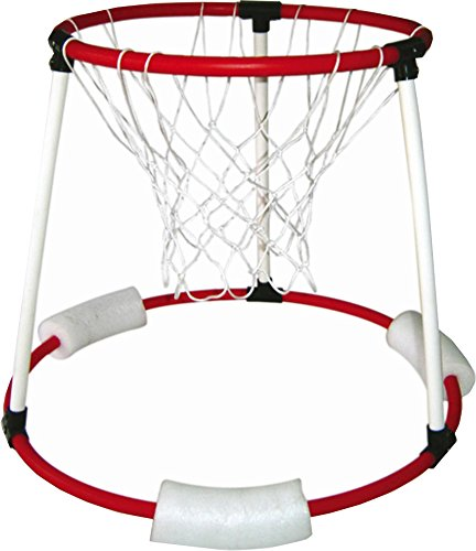 Only Swim New Swimming Pool Fun Playing Games Aqua Water Floating Basketball Goal & Net