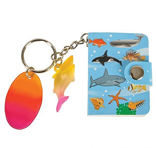 SEA LIFE MEMO BOOK KEY RING WITH DANGLER, Case of 288 by DollarItemDirect