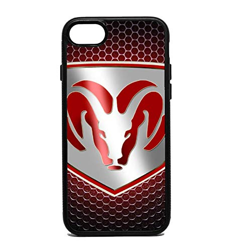 new styles 14e82 39cea Amazon.com: Phone Case Dodge Ram Red for iPhone 7: Cell Phones ...