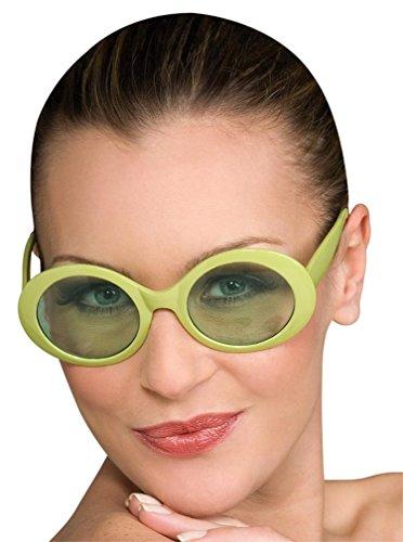 Costumes For All Occasions Ru8247 Glasses Fabulous Capri Green
