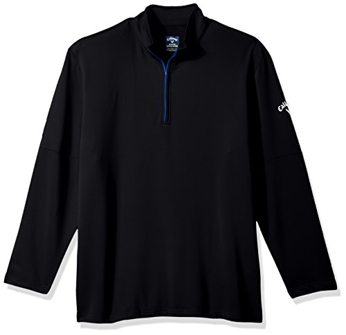 Callaway Men's Big & Tall Opti-Temp Long Sleeve Outlast Premium 1/4 Zip Midlayer Jacket