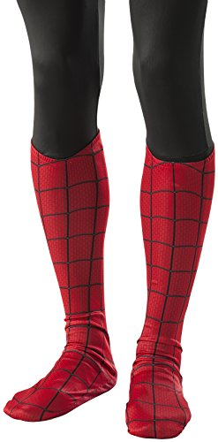 Amazing Spiderman 2 Costumes (Rubie's Costume Men's The Amazing Spider-man 2 Adult Spiderman Costume Boot Tops, Multi, One Size)