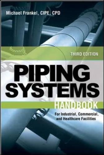 Facility Piping Systems Handbook: For Industrial, Commercial, and Healthcare Facilities (Steam System Design)
