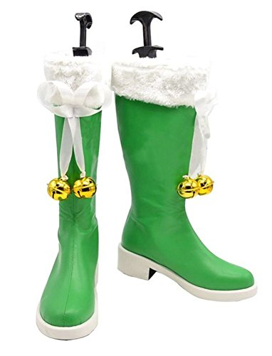 Halloween Date A Live Yoshino Shoes Cosplay Boots Custom Made (Female 8.5) -