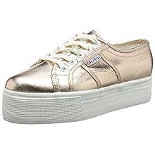 Superga 2790 COTMETW - Zapatillas Mujer, color Dorado - Gold (Rose Gold), talla 41 EU (7 UK)
