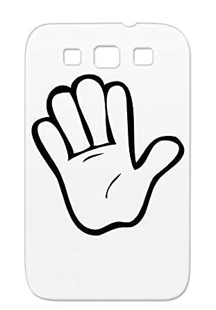 hi 5 tpu anti scuff drawing funny hand five celebrate high five
