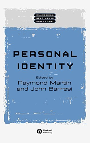 personal identity in philosophy In philosophy, the matter of personal identity deals with such questions as, what makes it true that a person at one time is the same thing as a person at another .