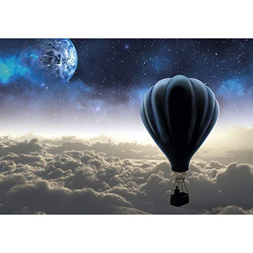 UJuly Starry Hot Air Balloon Landscape 5D DIY Full Diamond Painting Embroidery Drill Mosaic Needlework Cross Craft Stitch Kit Home Decor
