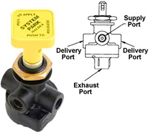NEW Push-Pull Panel Valve Replaces Haldex KN20031 H-30159