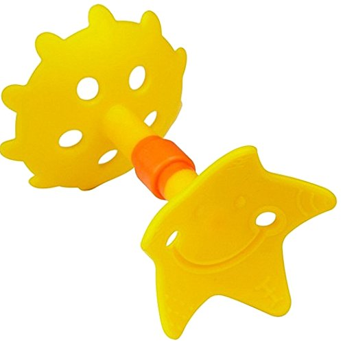 Innobaby Original Teethin Smart EZ Grip Star Teether and Sensory Toy for Babies and Toddlers. BPA Free Teether