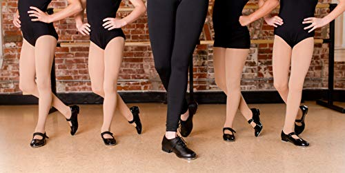 Dance Class Kids' Molly Jane Tap Shoe Mary Flat
