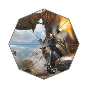 Fallout 4 Character Concept Art Custom Rain Foldable Travel Umbrella