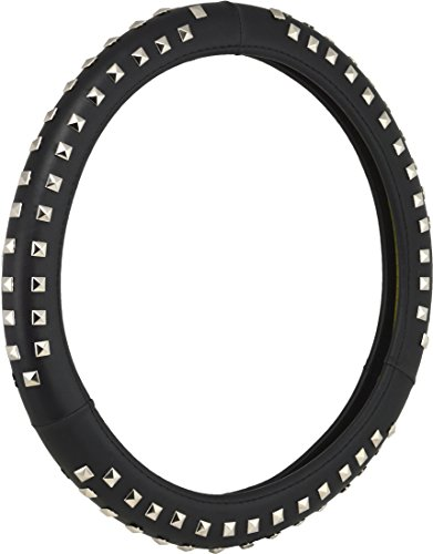 Bell Automotive 22-1-97057-9 Universal Stud Hyper-Flex Core Steering Wheel Cover, Black (Studded Steering Wheel compare prices)