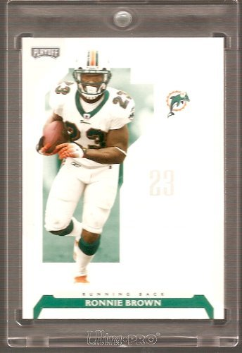 2006 Playoff NFL Football Card #51 Ronnie Brown ()