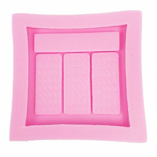 molde de silicona Forma Maquillaje Herramientas colorete paleta para fondant - Sugarcraft Herramienta de decoracion de torta...