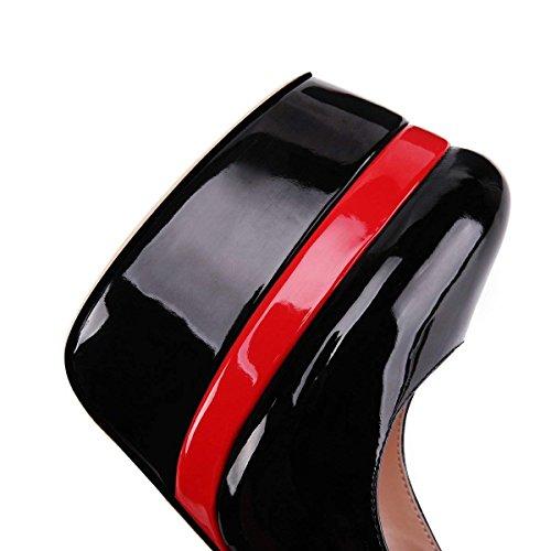 Plateforme Club B0tt0m Escarpins Pan Aiguille Platform Soirée Sexy 45 Plateforme 35 Red Talon pour Black Mariage Talon Femmes Caitlin double Haute Chaussures Bride Red qAw6wpv