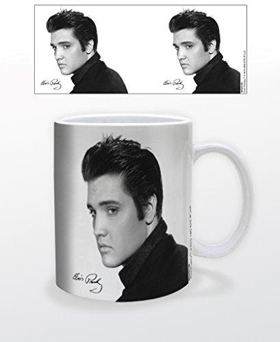 Elvis Presley Portrait Music Coffee Mug (Elvis Mug Presley)