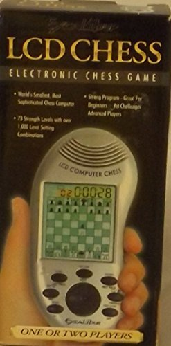 Handheld Electronic Chess Game (Excalibur Platinum Series LCD Chess)