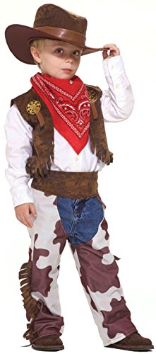 Forum Novelties Cowboy Kid Costume, Toddler Size ()