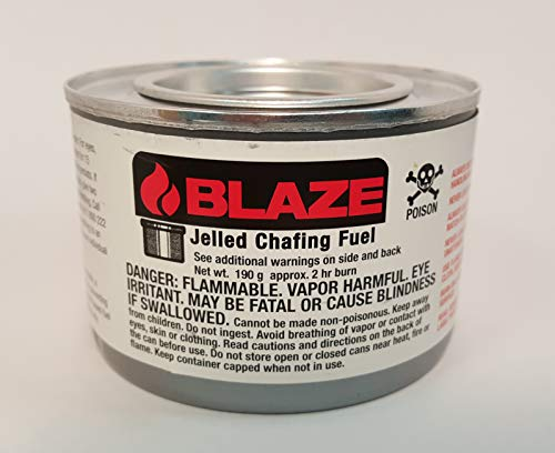 GB100L,2 hour jelled ethanol chafing dish fuel, 72 count